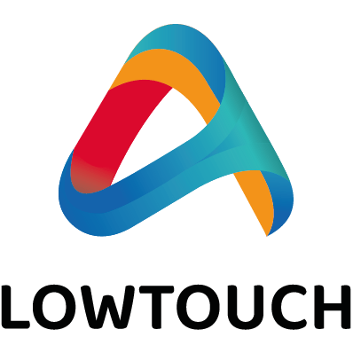 Logo LowTouch - Solutions intelligentes et sans contact
